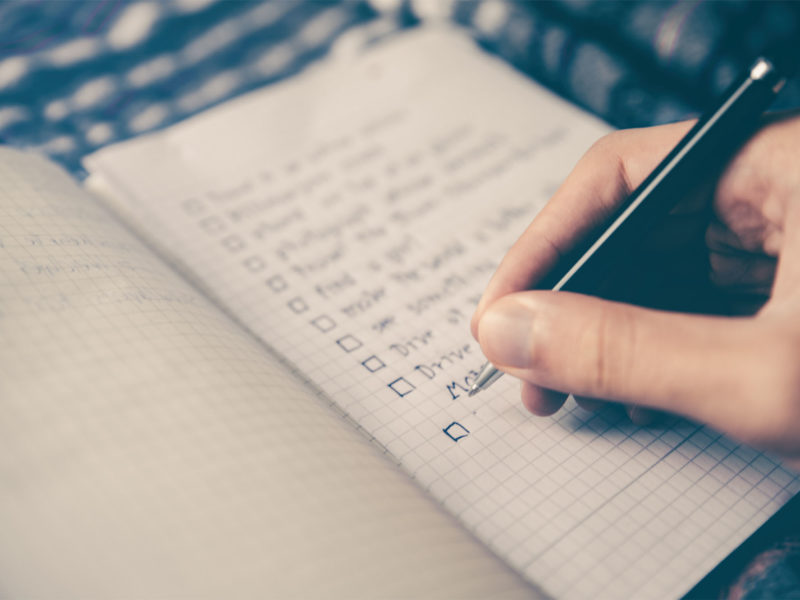 Don't Get Caught up in To-Do Lists